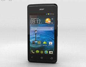 Acer Liquid Z200 Titanium Black 3D