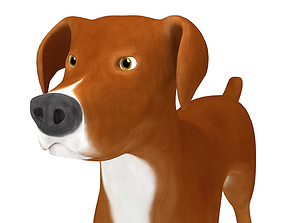 American Pitbull 3D model