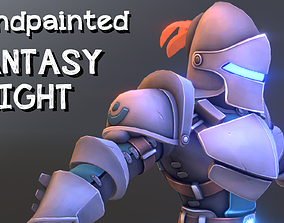 3D model Handpainted fantasy knight