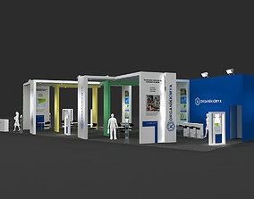 3D Exhibition Stand - ST007