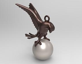 Pigeon Necklace 3D