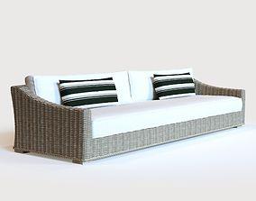 PROVENCE CLASSIC SOFA 112 3D model