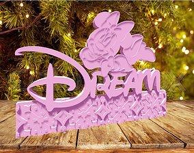 3D printable model Minnie Dream