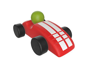 Race car plastic 3D model