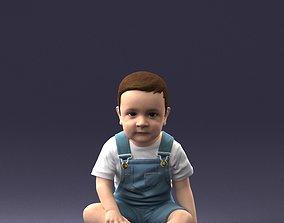 3D printable model Baby sitting 0618