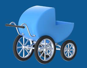 kids 3D Stroller or perambulator or buggy
