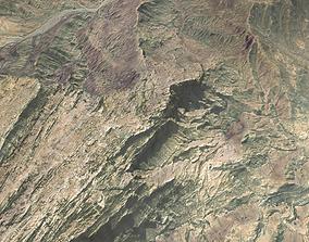 mount 3D model Mountain landscape