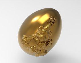 bear easter egg 3D printable model