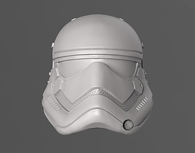 1stOrder StormTrooper Helmet Fan Art 3D print model