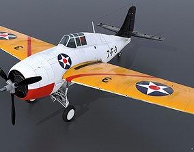 3D model GRUMMAN F4F-3 WILDCAT VF7 - 7F3