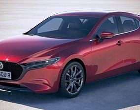 3D model Mazda 3 2019