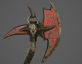 Fantasy AX 3D model