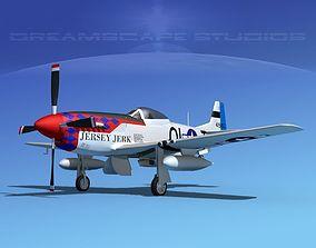 P-51D Mustang Jersey Jerk 3D