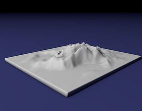 3D print model Landscape