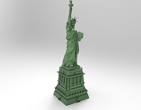 3D model of the Statue of Liberty for 3D