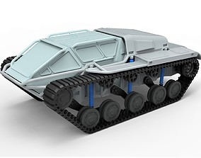 Diecast model Tracked vehicle Scale 1 to 24