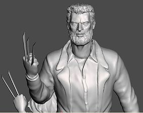 LOGAN WITH X23 INSPIRITED DIORAMA 3D printable model