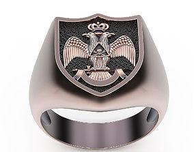 Ring Free Mason 3D print model