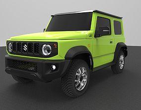 3D model Suzuki Jimny Sierra 2019