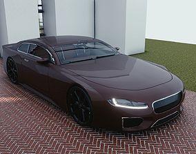 3D asset BLENDER EEVEE Brandless Sports GT