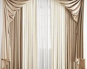3D model Curtain 178
