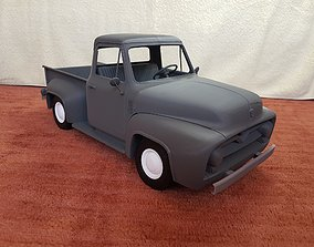 Ford F100 1955 - detailed scale model kit