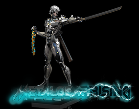 Raiden Statue from Metal Gear Rising 3D PRINTABLE