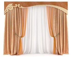 blinds 3D model Curtain
