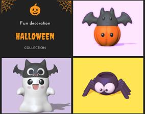 Halloween animals 3D model