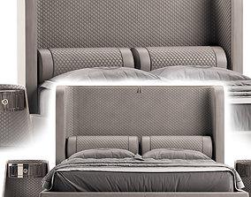 3D model Vittoria Frigerio Bellini High Bed