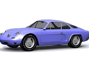3D model Alpine Renault 1600