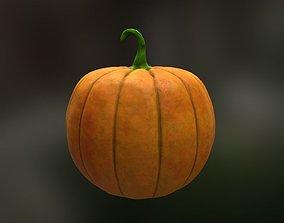 3D asset realtime PBR Pumpkin