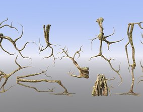 Roots or Vines Pack 3D model