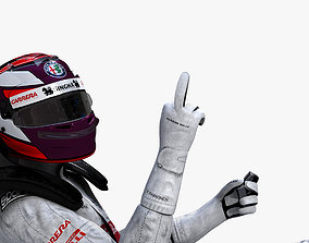 3D model Kimi Raikkonen 2019