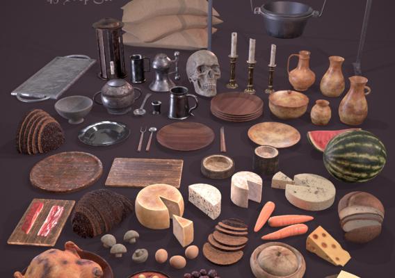 Medieval Kitchen Essentials