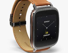 Asus ZenWatch WI500Q smartwatch 3D model