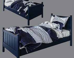 3D Camp Single Bed Navy