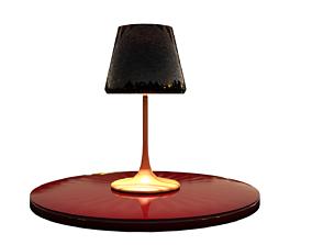 dark 3D Simple Lamp