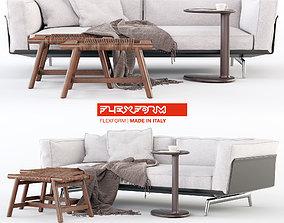 seating Flexform Este sofa 3D model