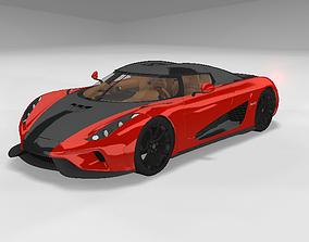 3D Koenigsegg Regera 2017