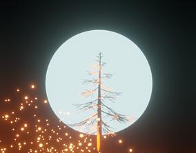 Harmonious Tree scene 3D model