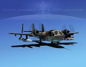 3D Grumman OV-1D Mohawk V10