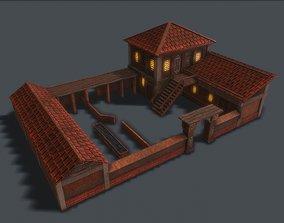 Ancient Cow Farm 3D model