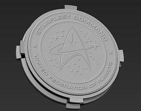 Decorative Star Trek Base Stand for 3D print model
