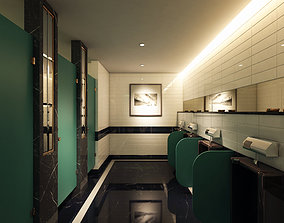 3D model 1C Hotel Restroom