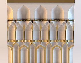 3D model Cornice - Oriental stalactite 2