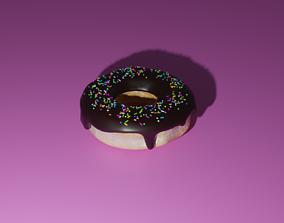 3D Donut tasty