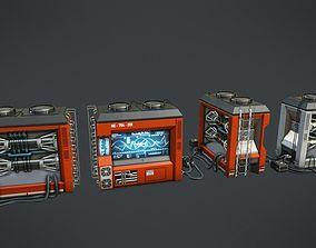3D model Scientific Device 1