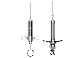 Old Syringe 3D asset