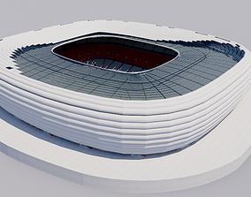 Allianz Arena - Munich Germany 3D model